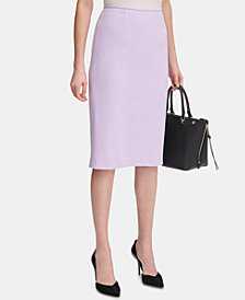 Calvin Klein Petite Midi Pencil Skirt