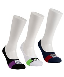 Disney® 3-Pk. Villains Liner Socks