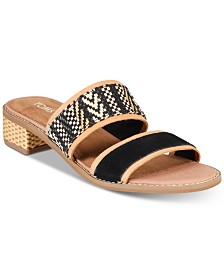 TOMS Women's Mariposa Slip-On City Sandals