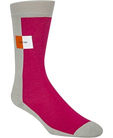 Men's Colorblocked Crew Socks