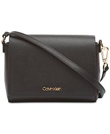 Calvin Klein Clara Leather Crossbody
