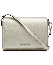 Calvin Klein Clara Leather Crossbody