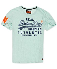 Superdry Men's Vintage Authentic Logo Pastel T-Shirt