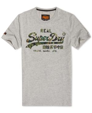 Superdry T-shirts MEN'S VINTAGE LAYERED CAMOUFLAGE LOGO T-SHIRT