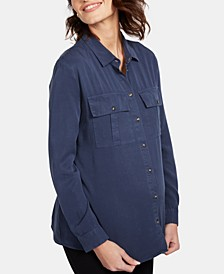 Maternity Button-Front Shirt