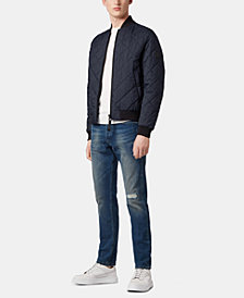 BOSS Men's Lightweight Water-Repellent Bomber Jacket