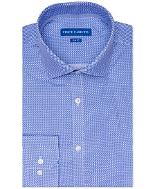 Vince Camuto Men's Slim-Fit Stretch Printed Dress Shirt