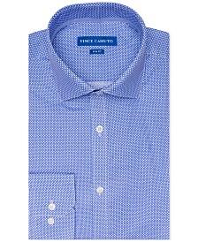 Vince Camuto Men's Slim-Fit Stretch Printed Dress Shirt
