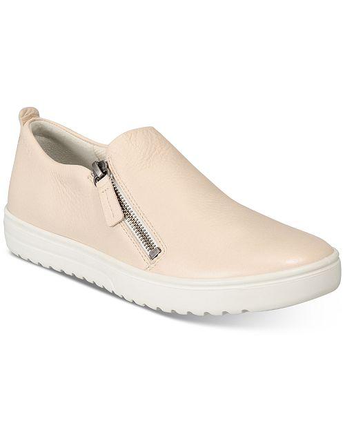 532fce53f Slip Sneakers Zip Macy s Sneakers dame s On Fara Shoes Ecco qXAwtn