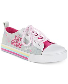 Juicy Couture Little & Big Girls Solano Low-Top Denim Sneakers
