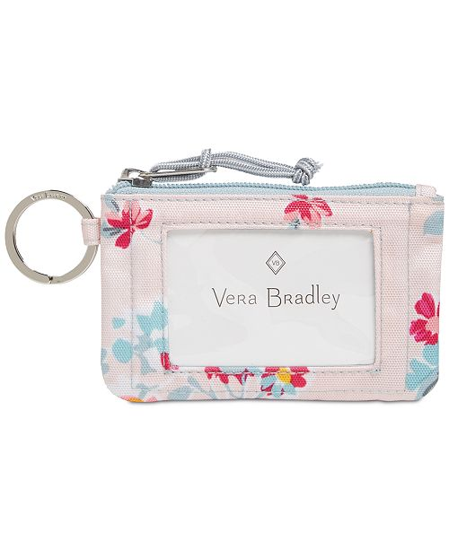 Vera Bradley Lighten Up Zip ID Case