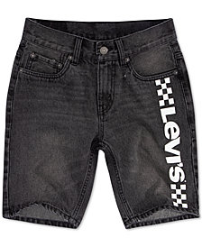 Levi's® Big Boys 502 Regular Taper-Fit Denim Shorts