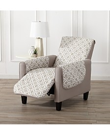Printed Deluxe Reversible Recliner Furniture Protector