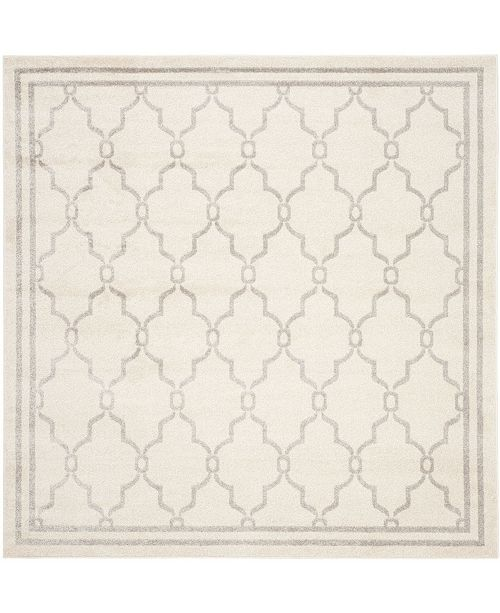Safavieh Amherst Ivory and Light Gray 5' x 5' Square Area Rug