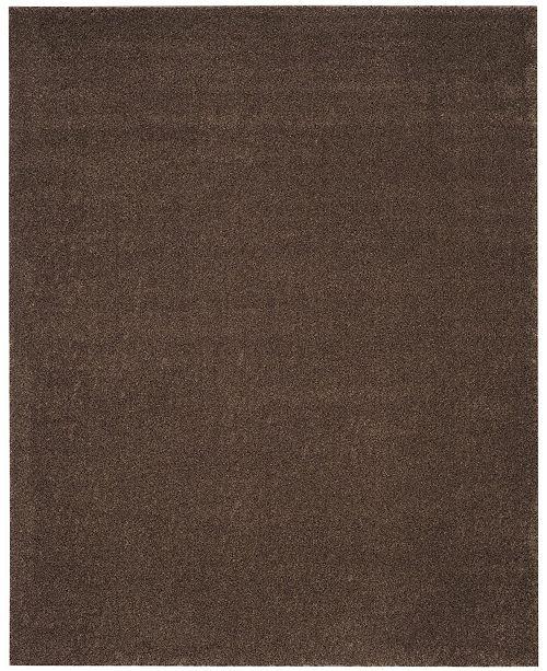 Safavieh Arizona Shag Brown 9' x 12' Sisal Weave Area Rug