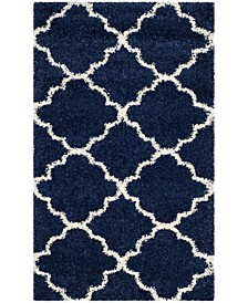 Hudson Navy and Ivory 3' x 5' Area Rug
