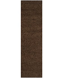 "Athens Brown 2'3"" x 8' Runner Area Rug"
