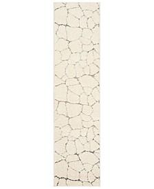 Santorini Cream and Multi 2' x 8' Runner Area Rug