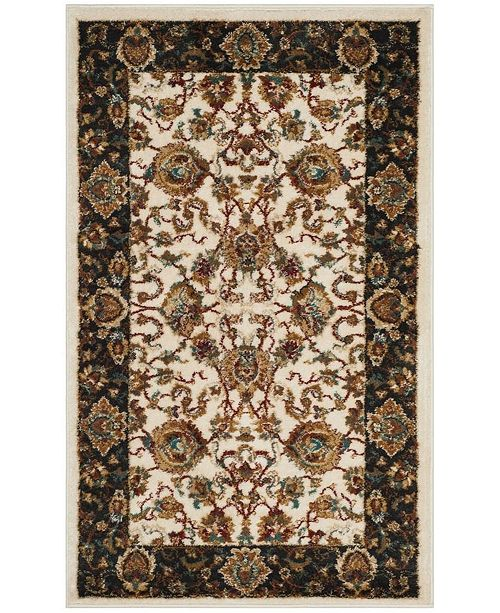 Safavieh Summit Ivory and Dark Gray 3' x 5' Area Rug