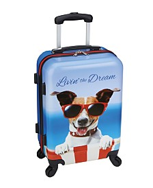 "Livin' the Dream 20"" Hardside Carry-On"