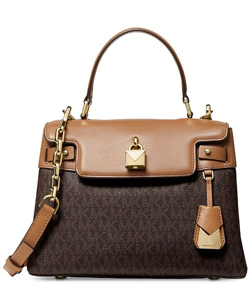 c20c4e16fa40 Michael Kors Gramercy Top Handle Satchel & Reviews - Handbags ...