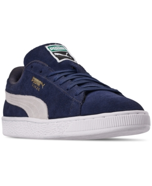 Puma Sneakers MEN'S SUEDE CLASSIC CASUAL SNEAKERS FROM FINISH LINE