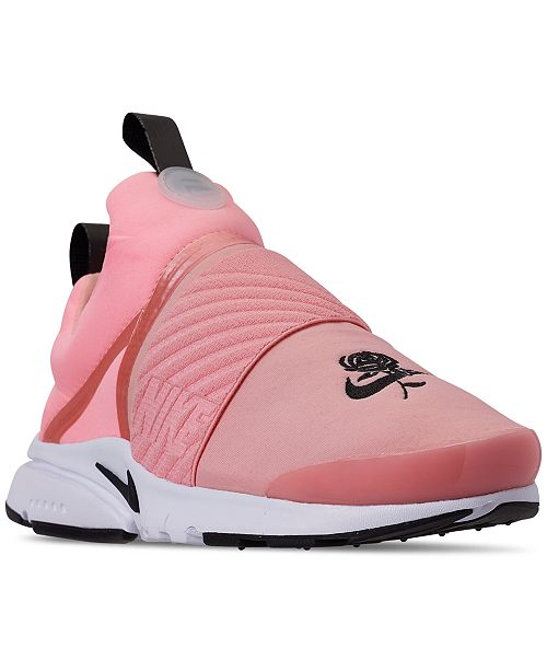 half off 6c747 cbc63 ... Nike Girls  Presto Extreme Valentine s Day Running Sneakers from Finish  ...