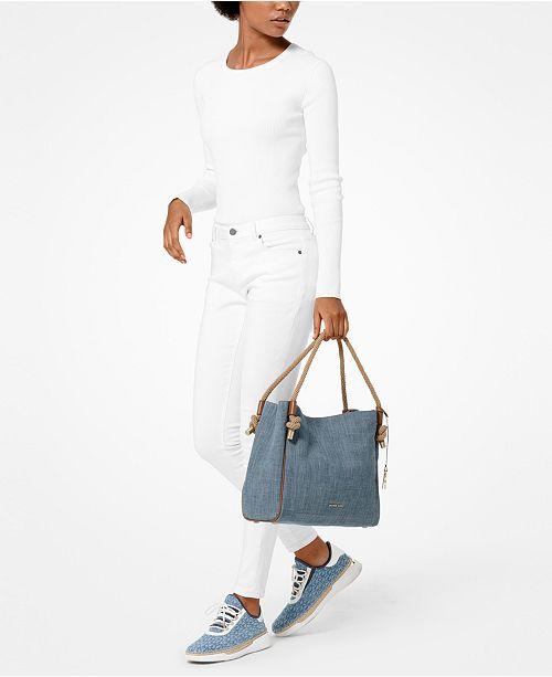 2d9a6a6c453c Michael Kors Isla Satchel & Reviews - Handbags & Accessories - Macy's