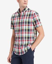 Tommy Hilfiger Men's Alex Plaid Shirt, Created for Macy's