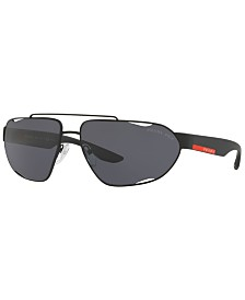 Prada Linea Rossa Polarized Sunglasses, PS 56US 66