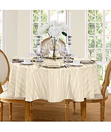 "Denley Stripe 70"" Round Tablecloth"