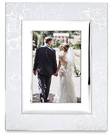 Lenox Silver Peony 5x7 Frame