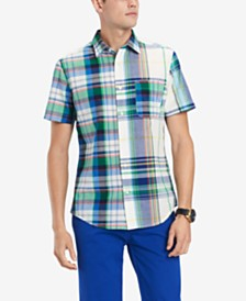 Tommy Hilfiger Men's Prescott Plaid Shirt, Created for Macy's