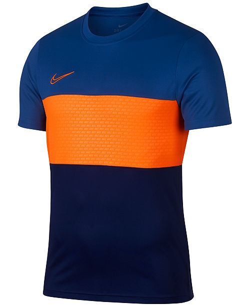 339ce8e2 Nike Men's Dry Academy Colorblocked T-Shirt; Nike Men's Dry Academy  Colorblocked T- ...