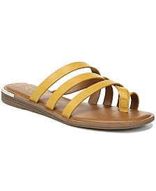 Franco Sarto Goddess Flat Sandals