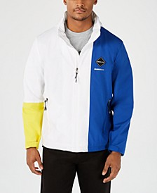 Men's Hooded Colorblocked Jacket
