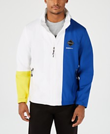 Sean John Men's Hooded Colorblocked Jacket