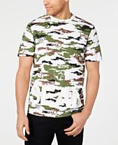 ee8523ea09769 Sean John Men s Logo Graphic Camo T-Shirt