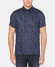 Perry Ellis Men's Dark Floral Shirt