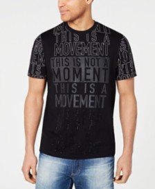 Sean John Men's This Is Not A Movement Graphic T-Shirt