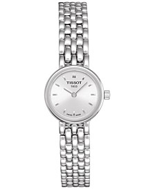 Women's Swiss T-Lady Lovely Stainless Steel Bracelet Watch 19.5mm