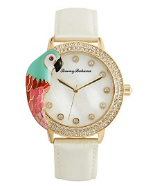 Tommy Bahama 3D Parrot Bezel Watch