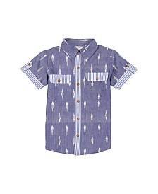 Masala Baby Boys Mason Shirt Ikat