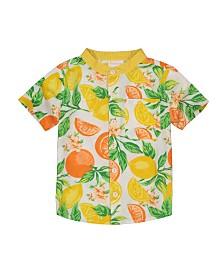 Masala Baby Boys Wilder Shirt Citrus Blossom