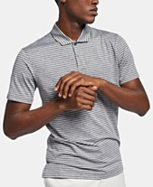 9a99d4ab Nike Men's Tiger Woods Dri-FIT Striped Golf Polo