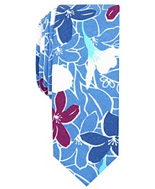 Men's Doyle Floral Skinny Tie
