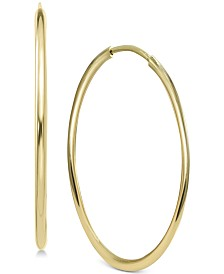 Argento Vivo Endless Hoop Earrings