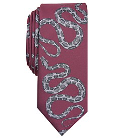 INC Men's Python Conversational Skinny Tie, Created for Macy's