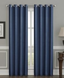 "Sun+Block Thermal Weave Blackout Grommet Single Curtain 52""x84"""