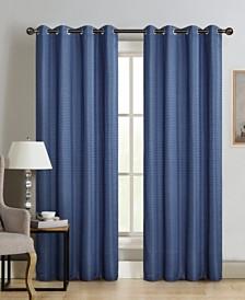 "Silk+Home Light Filtering Grommet Single Curtain Panel 52""84"""
